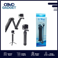 3 WAY GRIP-ARM-TRIPOD FOR GOPRO, BPRO, SJCAM, YI CAM, XIOMI CAM