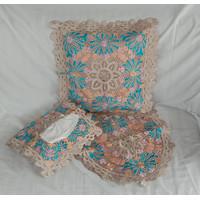 Set Sarung Bantal sofa Full Bordir