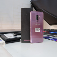 Samsung Galaxy S9+ Plus 256 GB Seri tertinggi Fullset Mulus Like New