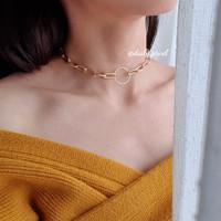 Kalung Rantai Choker / Gigi Chain Necklaces