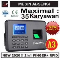 MESIN ABSENSI / A3 / FINGER PRINT / FINGERPRINT / SIDIK JARI /
