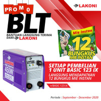 mesin las inverter lakoni basic 123 ix