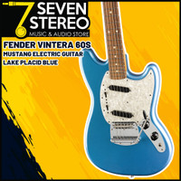 Fender Vintera 60s Mustang Electric Guitar Lake Placid Blue