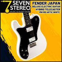 Fender Japan Hybrid Telecaster Deluxe Artic White