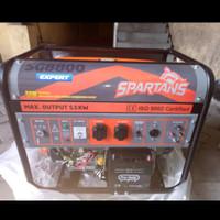 Genset Spartans SG 8800 / Genset 5000 watt Spartan SG8800