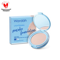 Wardah Lightening Powder Foundation Light Feel 07 Honey Beige 12 gr