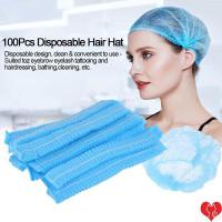 Nurse cap / pack hair cap hair net penutup kepala gojek suster 100pcs