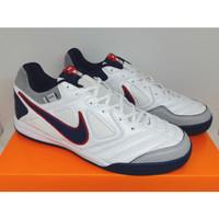 Sepatu Futsal Nike 5 Gato LTR White Navy