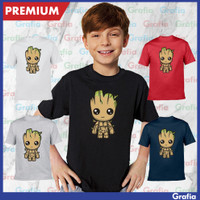 Kaos Tshirt Anak Groot Guardians of the galaxy