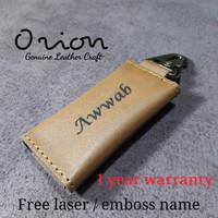 gantungan kunci motor mobil dompet stnk kulit asli costum key chains