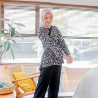Hanbok Aster Pajamas / Piyama Set Wanita