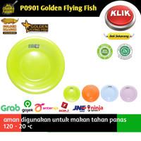 piring makan melamin 9 cekung | piring melamin golden flaying fish