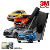 Kaca Film 3M ORIGINAL crystalline windshield only SMALL CAR