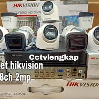 PROMO PAKET CCTV HIKVISION 8CH 2.0 MP 1080P FULL HD