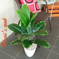 Pohon pisang palsu/ tanaman pisang plastik / pohon pisang artificial