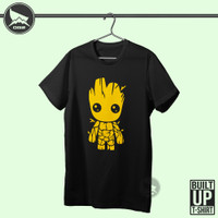 kaos Movie guardian of the galaxy Im groot M025 baju pria wanita OG2