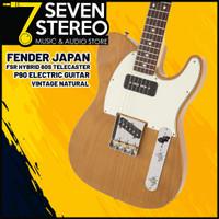 Fender Japan FSR Hybrid 60s Telecaster P90 Electric Guitar Vintage Nat