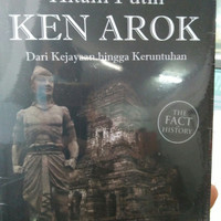Buku sejarah hitam putih Ken Arok