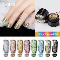 ROSALIND Shiny Diamond Gel Nail Polish UV LED / Kutek / Cat Kuku