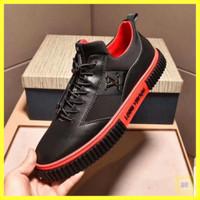 Sepatu sneakers pria LOUIS VUITTON branded mirror #Ss019