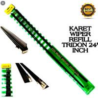Refil Refill Karet Wiper Isi Ulang Wiper Depan Ukuran 24 Inch ISI 2