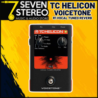TC Helicon VoiceTone R1 Reverb Vocal Effect Pedal