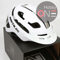 HELM NAUTILUS SABER WHITE SILVER- Helm Sepeda