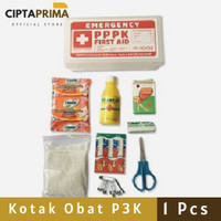 Kotak Obat P3K Mobil Sudah Lengkap Kotak PPPK First Aid Mobil