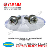 BAUT, SCREW, PAN HEAD WITH WASHER (54P2) 97602-05216