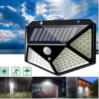 Lampu Taman LED Dinding Outdoor Tenaga Panel Surya Motion Solar Cell