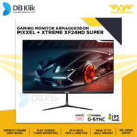 LED Monitor Gaming Armaggeddon Pixxel+ XF24HD Xtreme Super 24 144Hz
