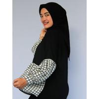 Blouse Muslim Wanita |Blouse Variasi HITAM PUTIH