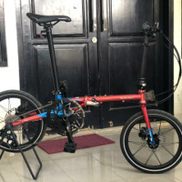 sepeda lipat Element Troy chrome edition 2020 10 speed not fnhon