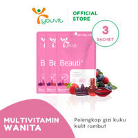 Beli 3 Sachet Youvit Gummy Multivitamin Beauti+ Isi 21 pcs Gummy