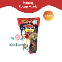 SEDAP KECAP MANIS REFILL 550ML