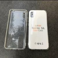 Jelly Case Redmi 9A silicon bening bahan tebal