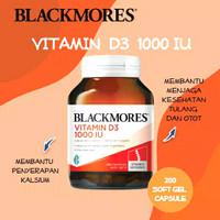 Vitamin D3 1000iu asli Blackmores isi 200tablet..vitamin D