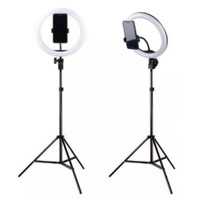 Tripod HP Ringlight Stand - PAKET Lengkap Ring Light 26cm Tripod 2m