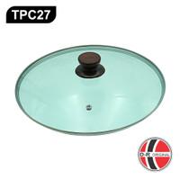 Tutup Panci Kaca Murah Diameter 27Cm TPC27