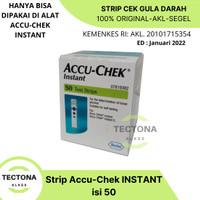 Accu Chek Instant isi 50 Strip Test - Accu Check - STRIP GULA DARAH