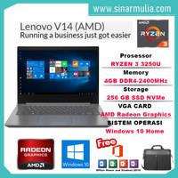 Laptop Lenovo V14 RYZEN 3 3250U 4GB 256GB WIN10+OHS ORIGINAL