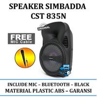 Speaker Simbadda CST 835N - Garansi Resmi
