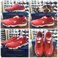 Sepatu Badminton Flypower Losari 3 Red/Navy/White