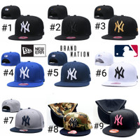 Topi Snapback NY New York 9Fifty Genuine Merchandise MLB Import
