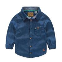 BAJU KEMEJA DENIM ANAK LAKI-LAKI LENGAN PANJANG | Blue Jeans Top