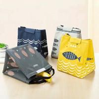 Tas Bekal Lunch Bag Cooler Bag motif ikan
