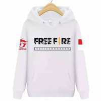 jaket sweater anak free fire bendera