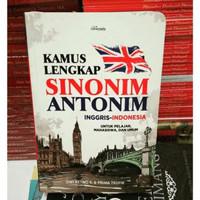 Stock terbatas KAMUS LENGKAP SINONIM ANTONIM INGGRIS-INDONESIA Diskon