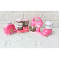 Mainan Anak Masakan MIxer Coffee Maker Blender Isi 4 Pcs ZM3403A