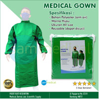 Medical Gown Reusable All Size